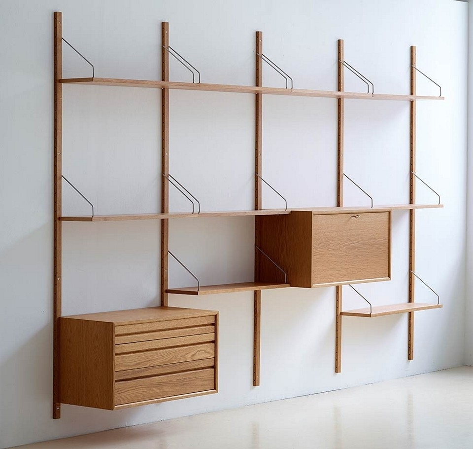 Mid Century Modern Bookcases Intended For Best And Newest Diy Mid Century Modern Bookcase Designs (View 8 of 15)