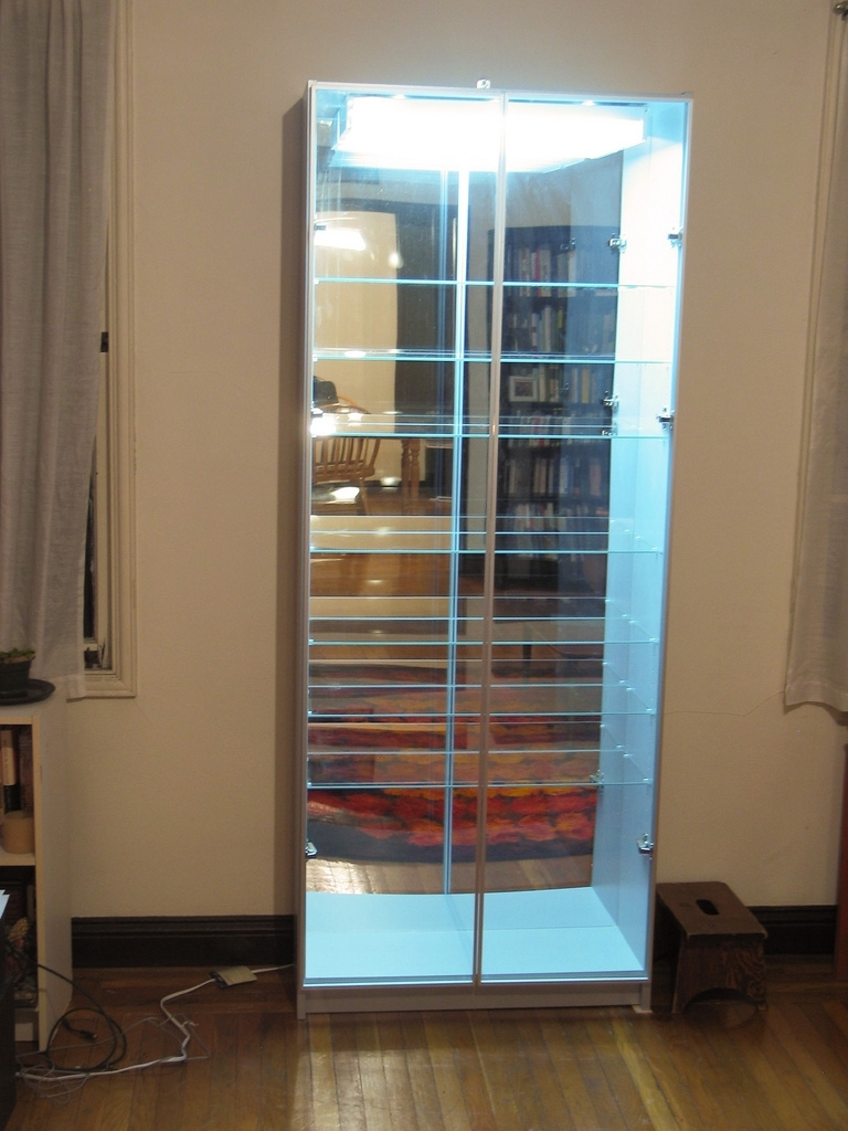 Mirrored Bookcases With Trendy Belched From The Depths: Tutorial: How To Make A Lighted, Mirror (View 4 of 15)