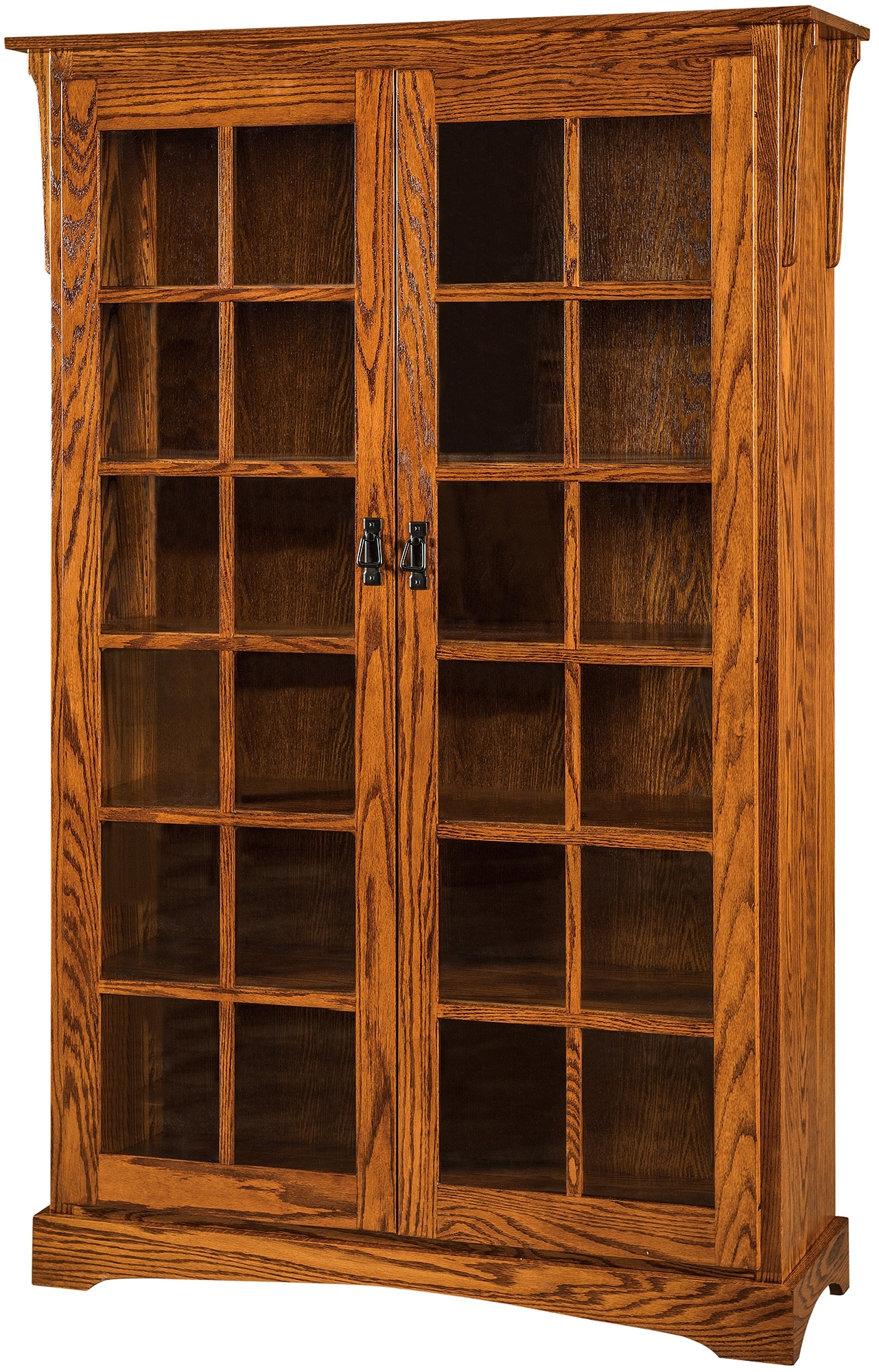 Mission Wood Bookcase (View 2 of 15)