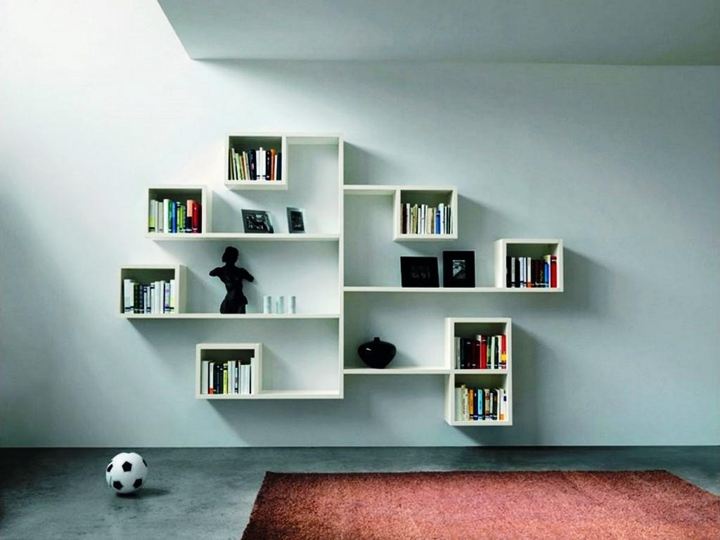 Modern Bookcases Regarding Most Up To Date Open Shelving Modern Furniture Bookcase — Contemporary (View 8 of 15)