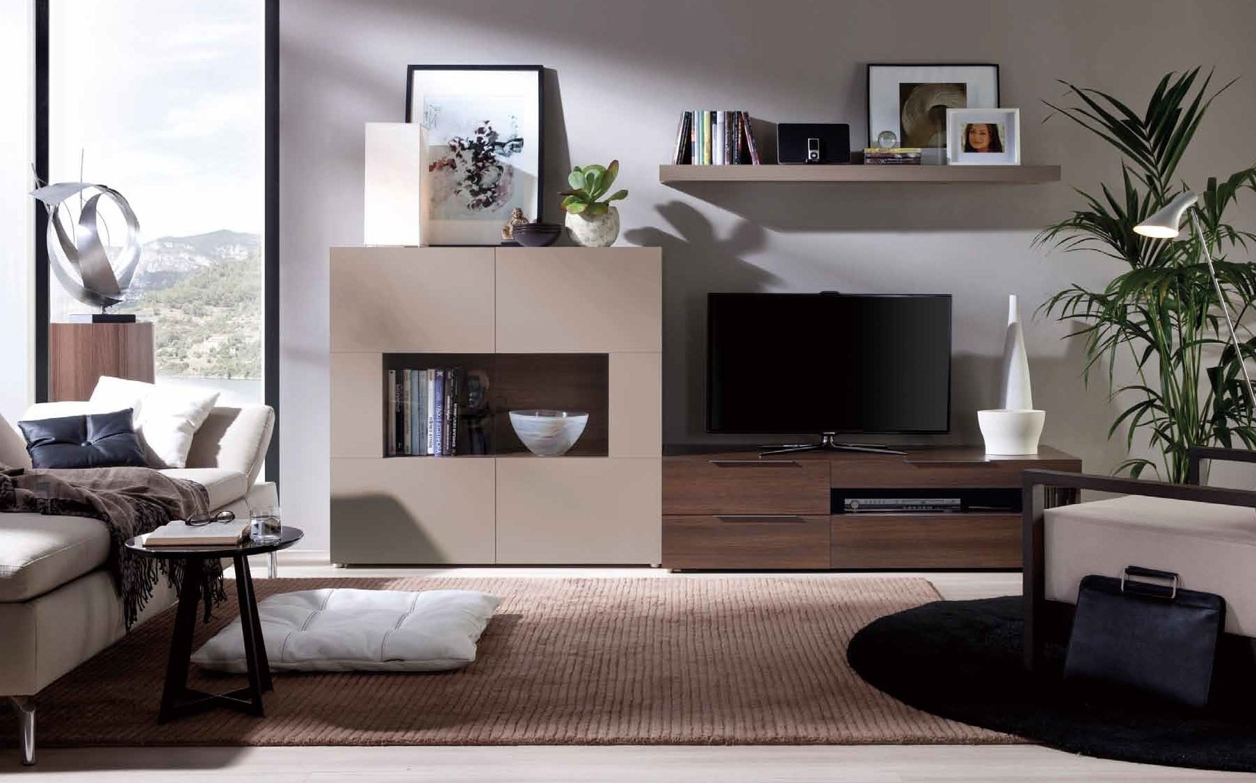 Modern Wall Units For Most Current Modern Wall Unit Of Rio Modern Wall Unit Furniture Images Wall (View 3 of 15)