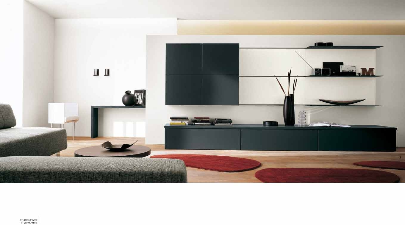 Modern Wall Units Inside Well Known Modern Wall Units – Capitangeneral (View 11 of 15)