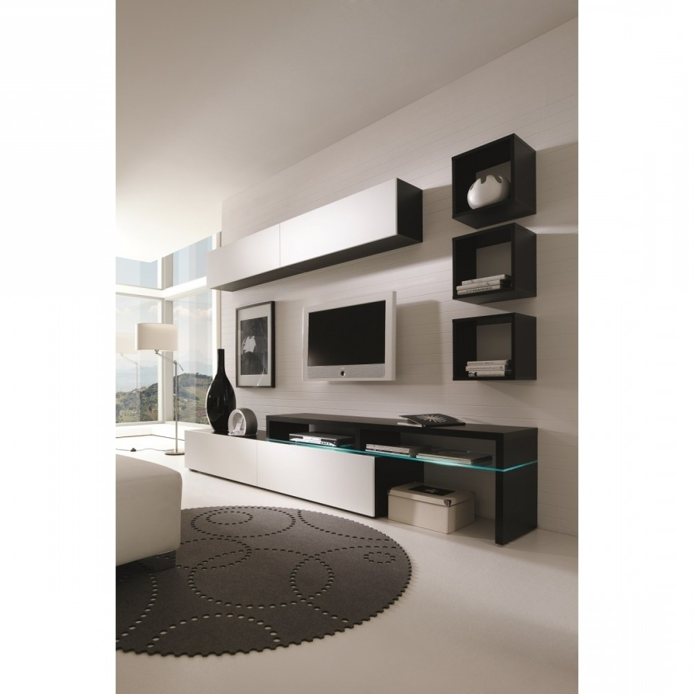 "Modern Wall Units Regarding Popular Creative Furniture"" Amsterdam Combination 11335 Modern Wall (View 10 of 15)"
