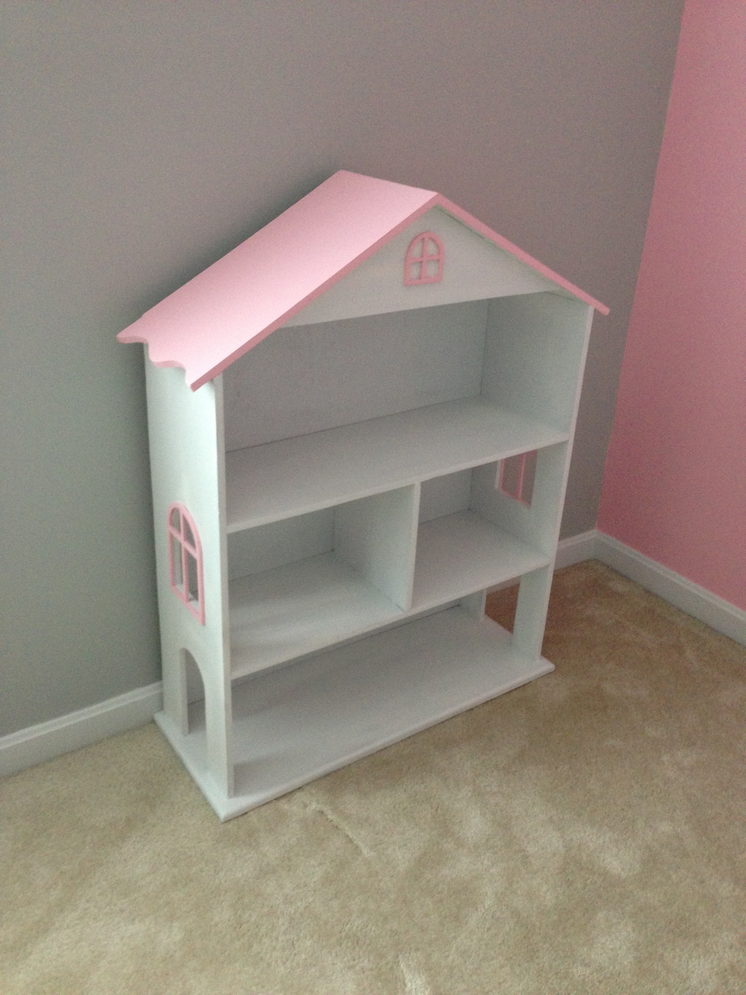 Modified Dollhouse Bookcase – Diy Projects Inside Diy Bookcases Plans (View 10 of 15)