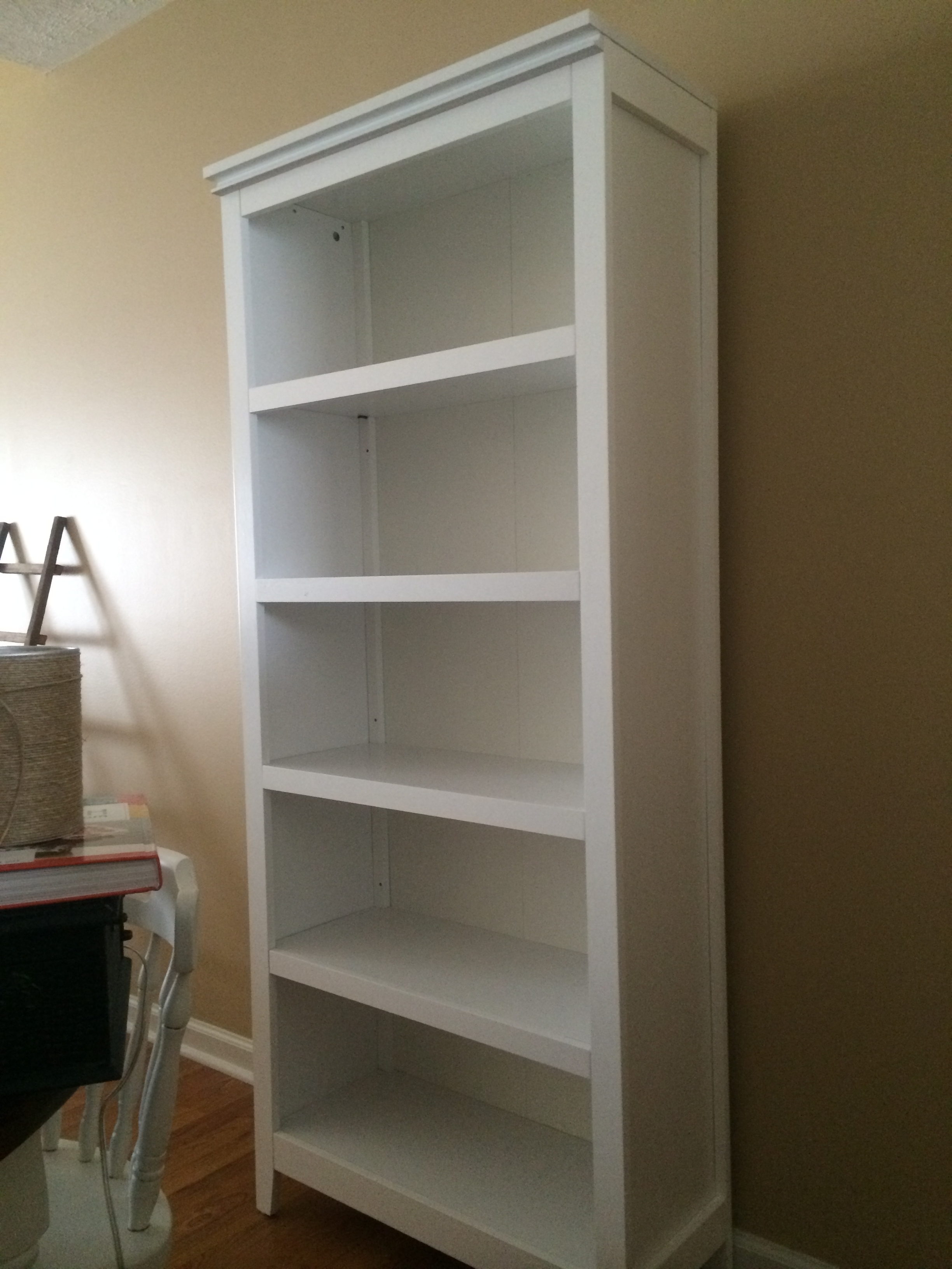 Most Current Awesome Collection Of Threshold 5 Shelf Bookcase With Doors White Within Carson 5 Shelf Bookcases (View 9 of 15)