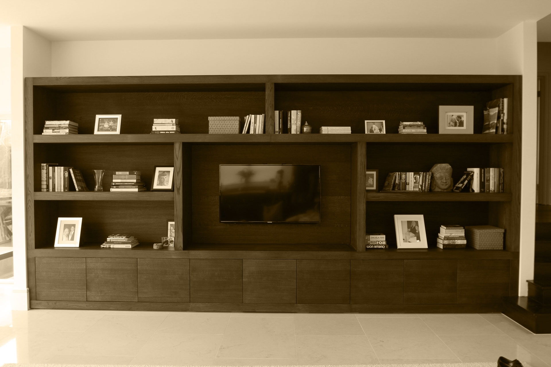 Most Current Bespoke Tv Units Throughout Bespoke Tv & Media Units & Furniture Design In Surrey (View 12 of 15)