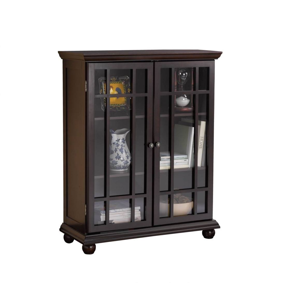Most Current Black Bookcases With Glass Doors Inside Black Bookcaseh Doors Ab8B7349E8E0 1000 Greensboro Nc Inches In (View 7 of 15)