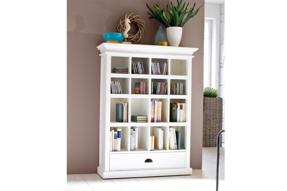 Most Current Bookcases Ideas: Bookcases And Shelving Units With Oak And Glass In Small White Bookcases (View 6 of 15)