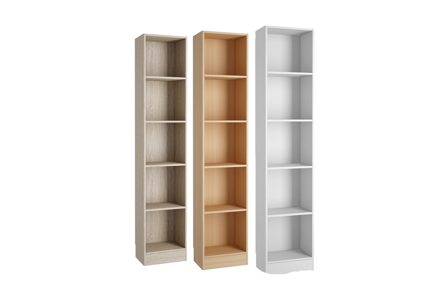 Most Current Bookcases Ideas: Element Tall Narrow Five Shelf Bookcase Regarding Narrow Bookcases (View 14 of 15)