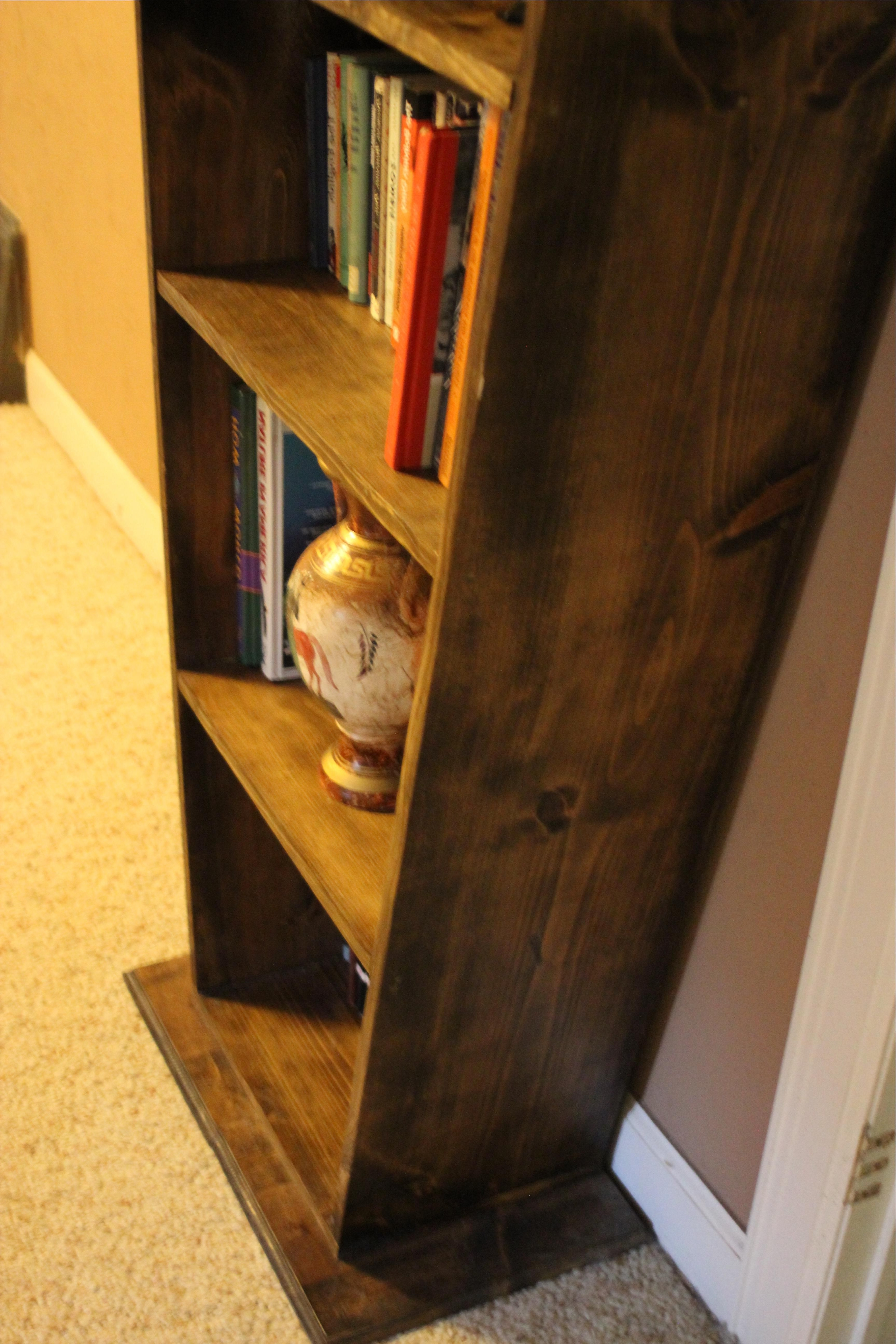 Most Current Buy A Hand Made Coffin Bookcase, Made To Order From Wartooth For Coffin Bookcases (View 12 of 15)