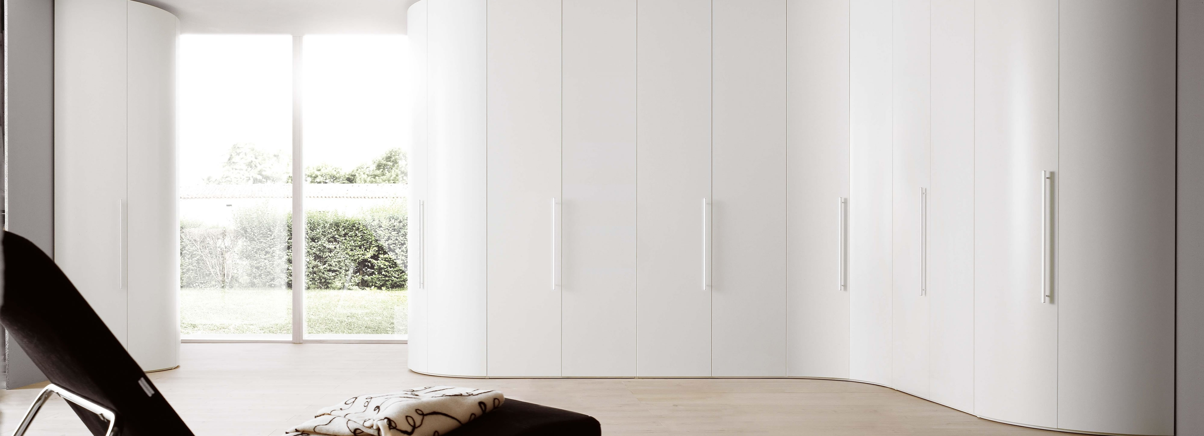 Most Current Curved Bedroom Wardrobes – Design & Install, Surrey – Raycross Intended For Curved Wardrobes Doors (View 9 of 15)