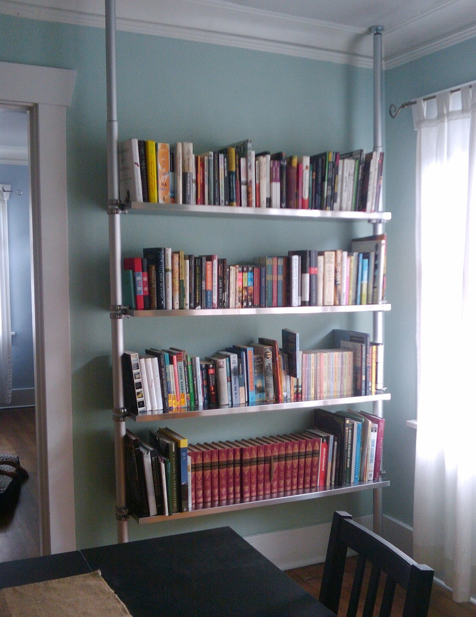 Most Current Freestanding Bookcases Wall With Regard To Stolmen And Ekby Compression Bookshelf System: 5 Steps (With Pictures) (View 8 of 15)