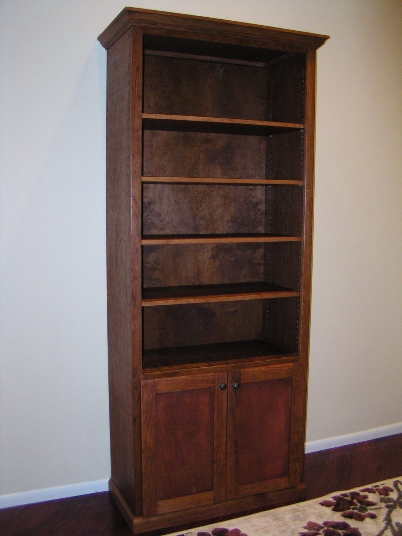 Most Current Furniture Home: Surprising Bookcase With Cabinet Base Photos With Regard To Bookshelves With Cabinet Base (View 11 of 15)
