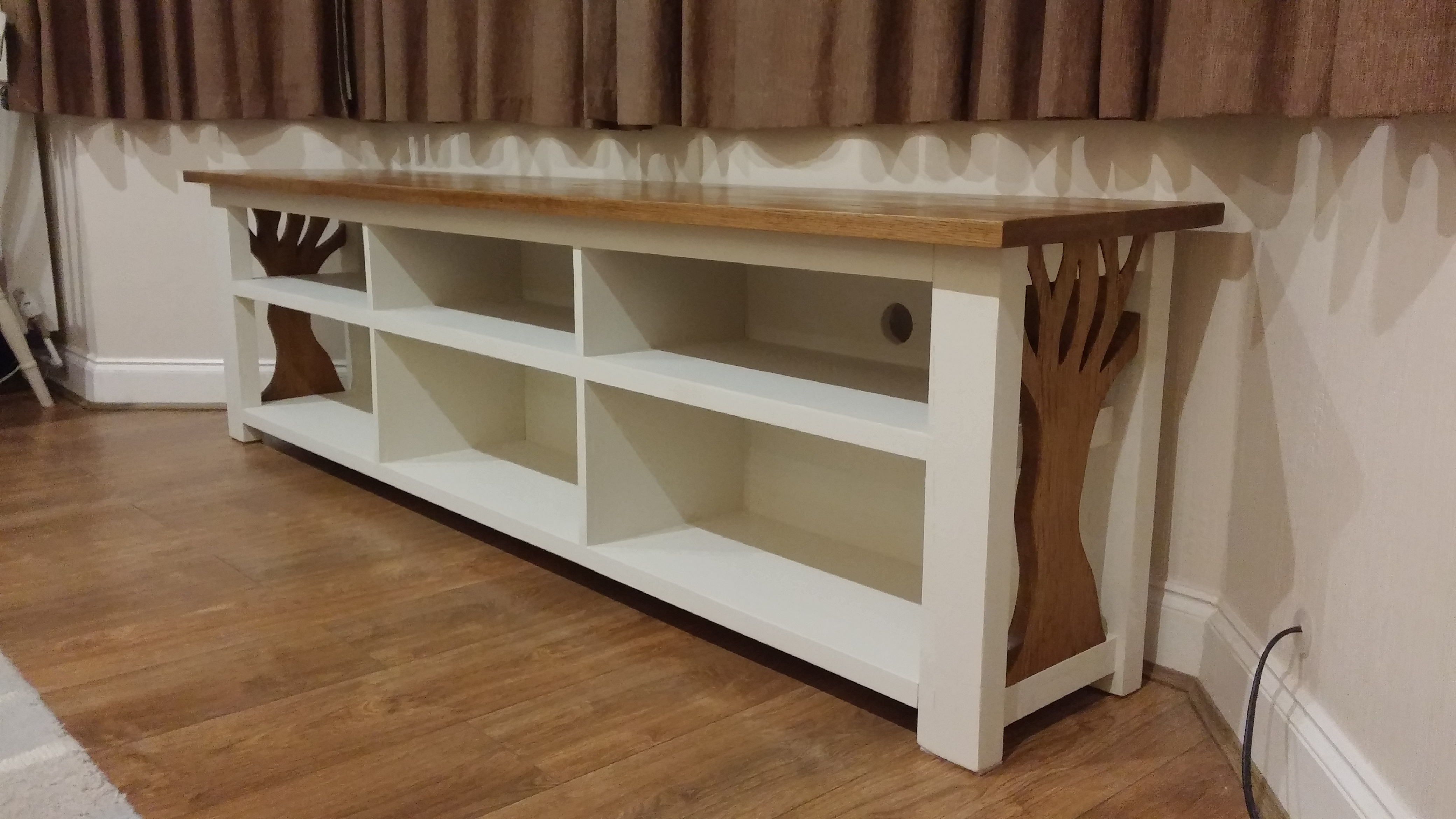 Most Current Handmade Tv Unit With Gallery (View 5 of 15)