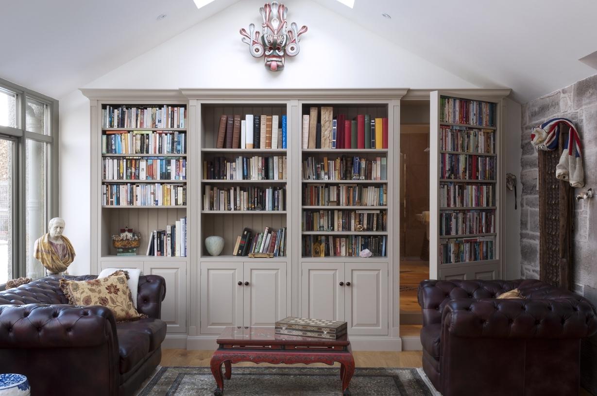 Most Current How To Build A Secret Passageway With The Hidden Door Hinge System Intended For Hidden Door Bookcases (View 14 of 15)