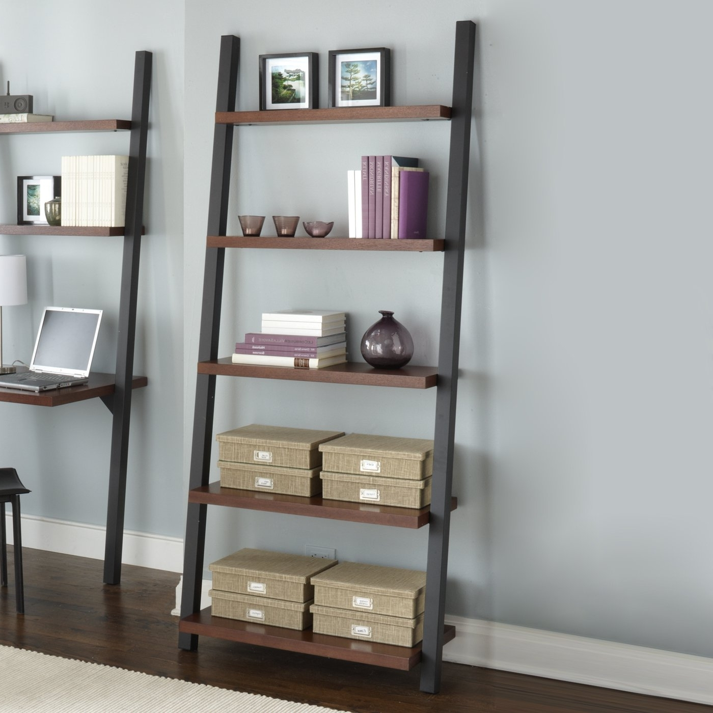 Most Current Leaning Bookcases In Contemporary Leaning Bookcase : Doherty House – How To Decorate (View 7 of 15)