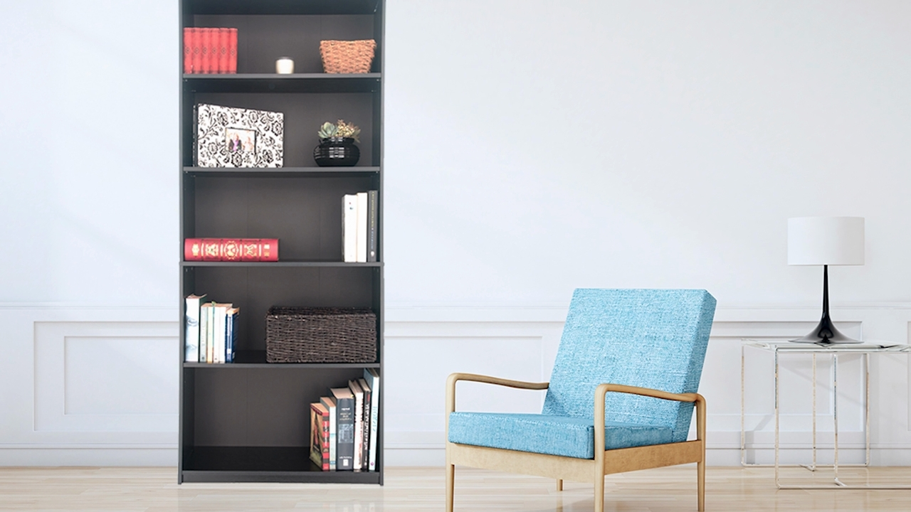 Most Current Mainstays 5 Shelf Bookcases Pertaining To Furniture Home: 32 Awful Mainstays 5 Shelf Bookcase Image Design (View 9 of 15)