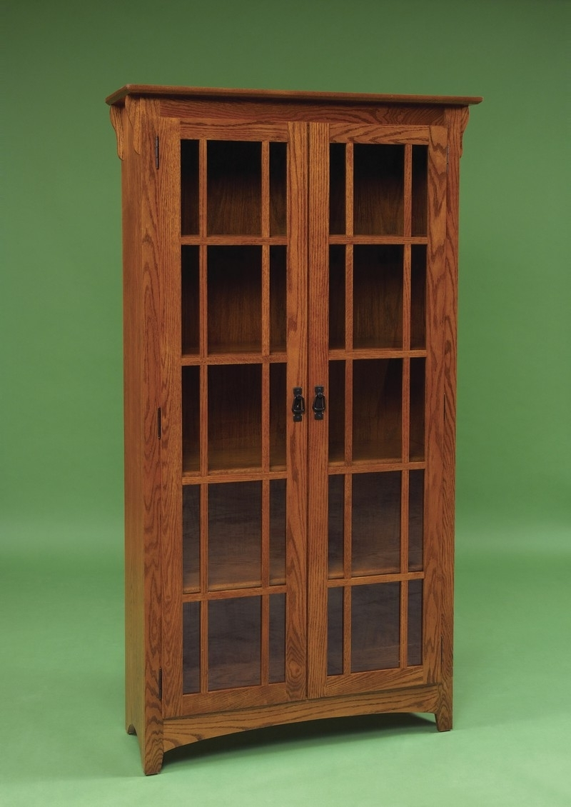 Most Current Mission Bookcases Within Furniture: Oak Book Cases With Mission Style Bookcase (View 3 of 15)