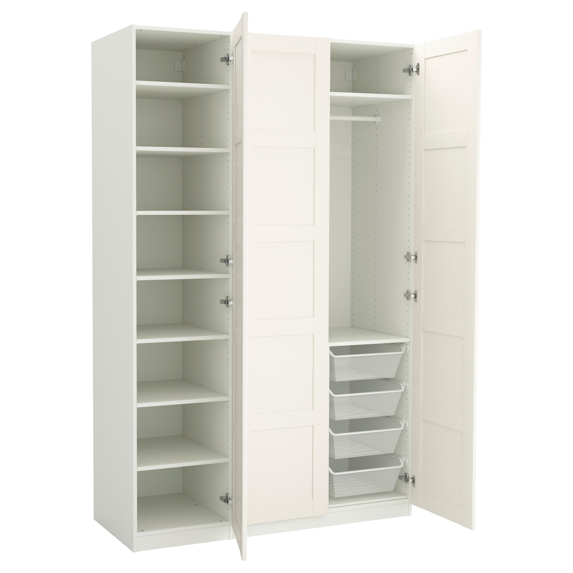 "Most Current Pax Wardrobe – 59X23 5/8X93 1/8 "" – Ikea With Childrens Double Rail Wardrobes (View 10 of 15)"