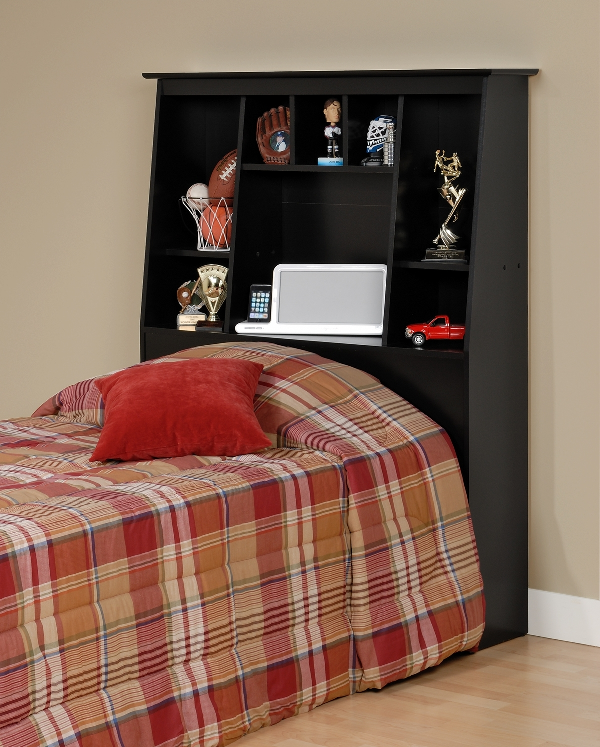 Most Current Prepac Tall Twin Bookcase Headboard Sh 4556 With Twin Headboard Bookcases (View 5 of 15)