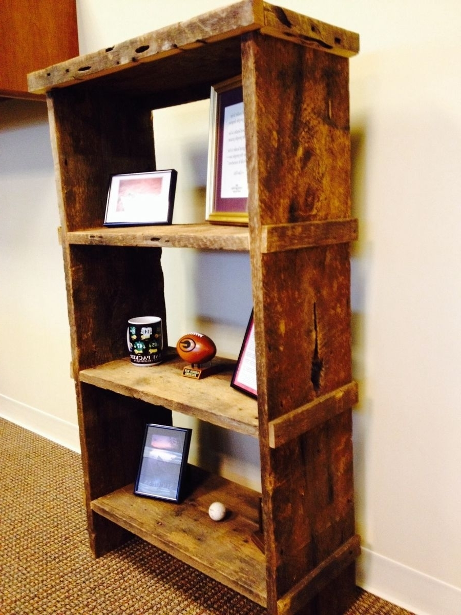 Most Current Reclaimed Wood Bookcases With Custom Bookcases (View 6 of 15)