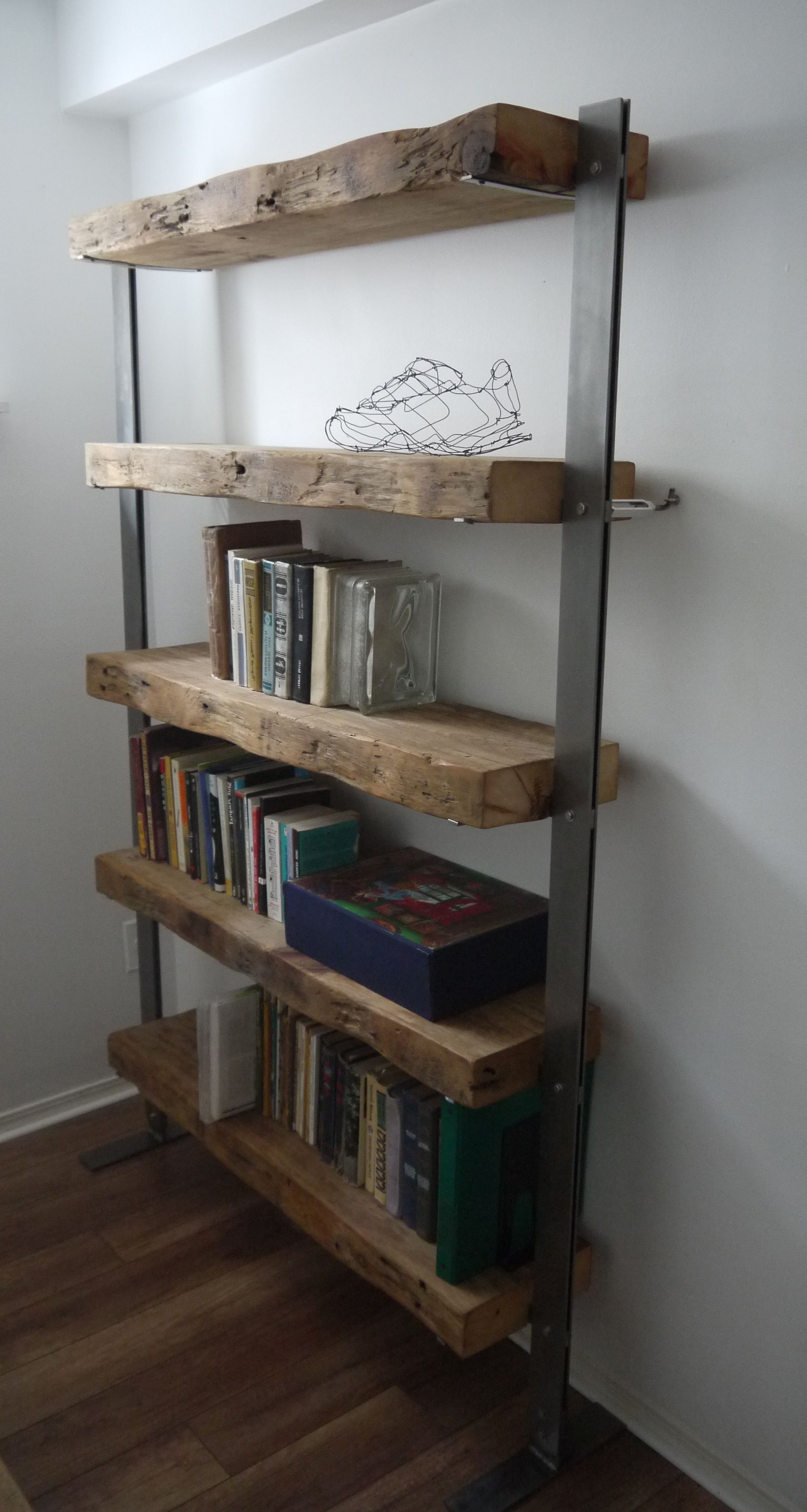 Most Current Reclaimed Wood Shelf Unitticicno Design Www (View 9 of 15)
