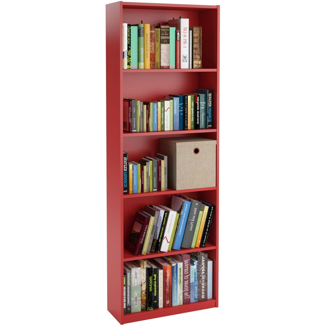 Most Current Red Bookcase Hemnes Living Room Series Ikea 0442972 Pe594096 S5 For Red Bookcases (View 13 of 15)