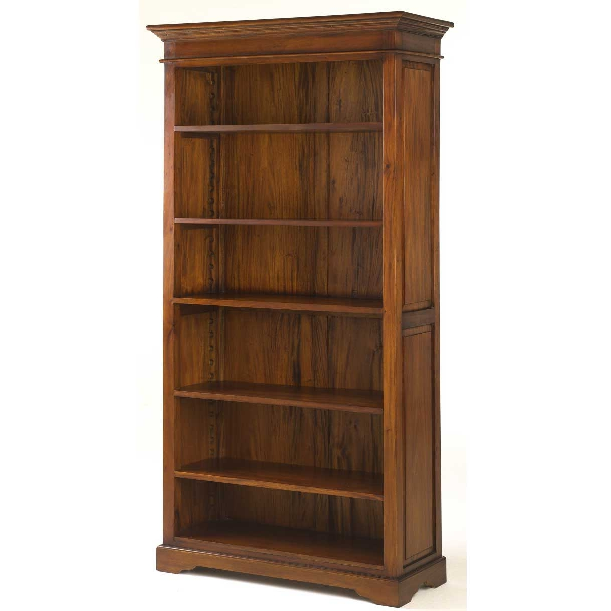 Most Current Solid Oak Bookcases Intended For Antique Mahogany Six Shelves Bookcases (View 8 of 15)