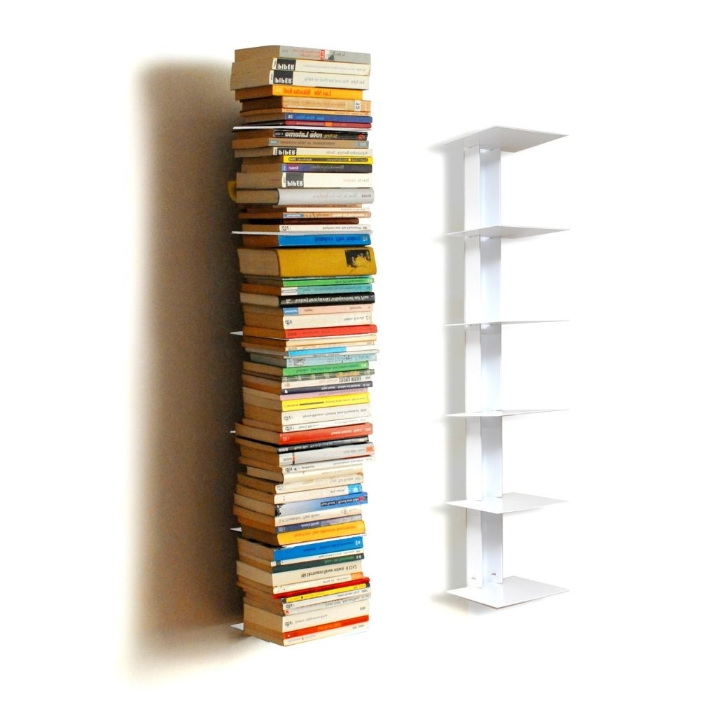 Most Current Spine Bookcases For Tower Bookcase Verticaltower Bookcases On Saletower For Small (View 5 of 15)