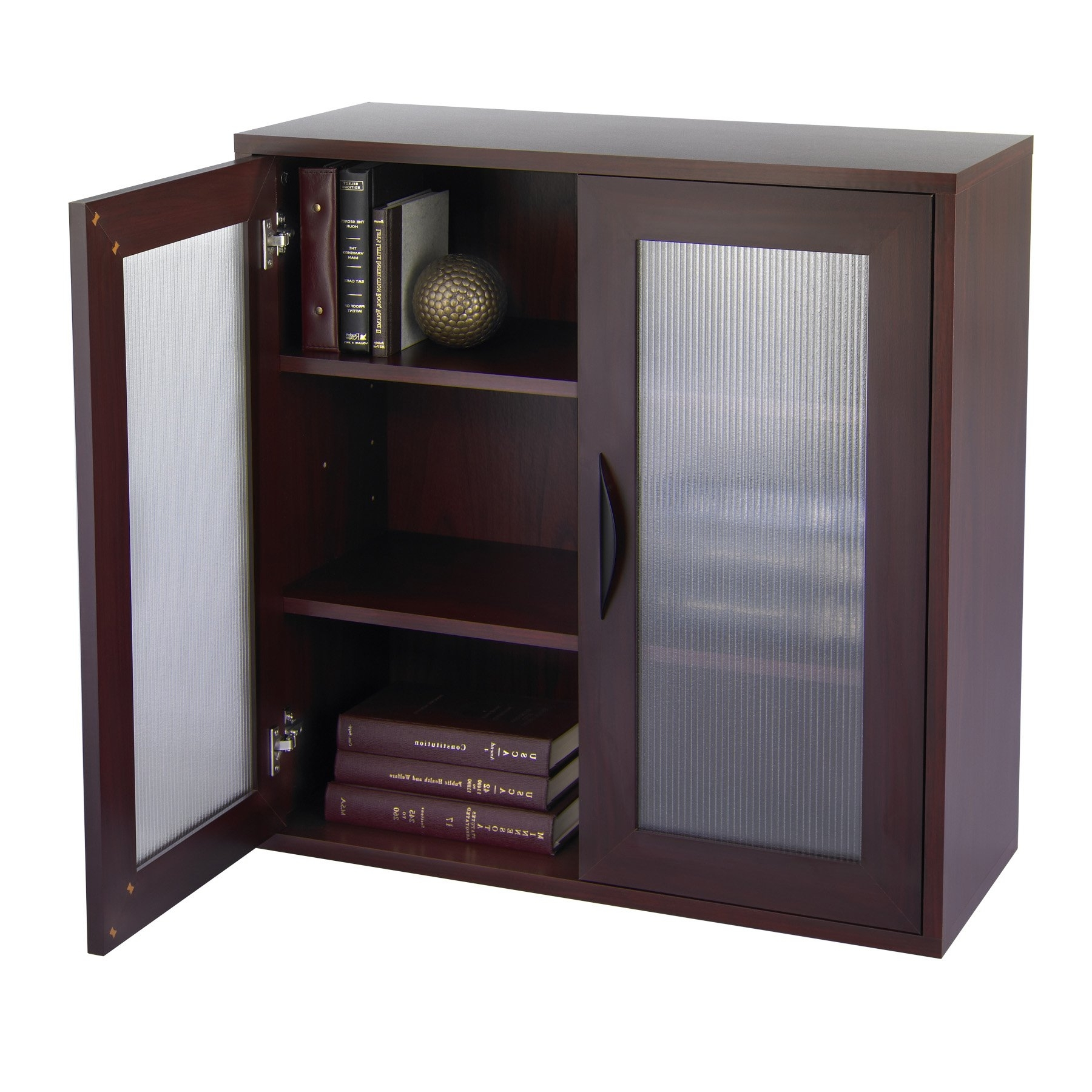 Most Current Storage Bookcase With Glass Doors 30 In (View 8 of 15)