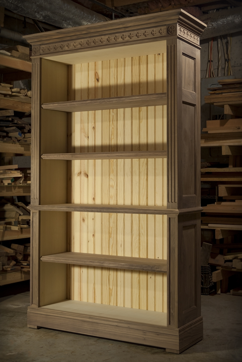 Most Current Traditional Bookcases With Atlanta, Ga Custom Bookcase & Library Design — Atlanta Custom (View 6 of 15)