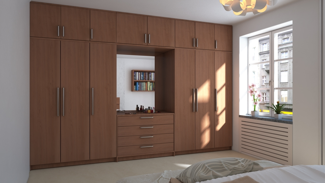 Top 15 of wall wardrobes - Wardrobe design ...