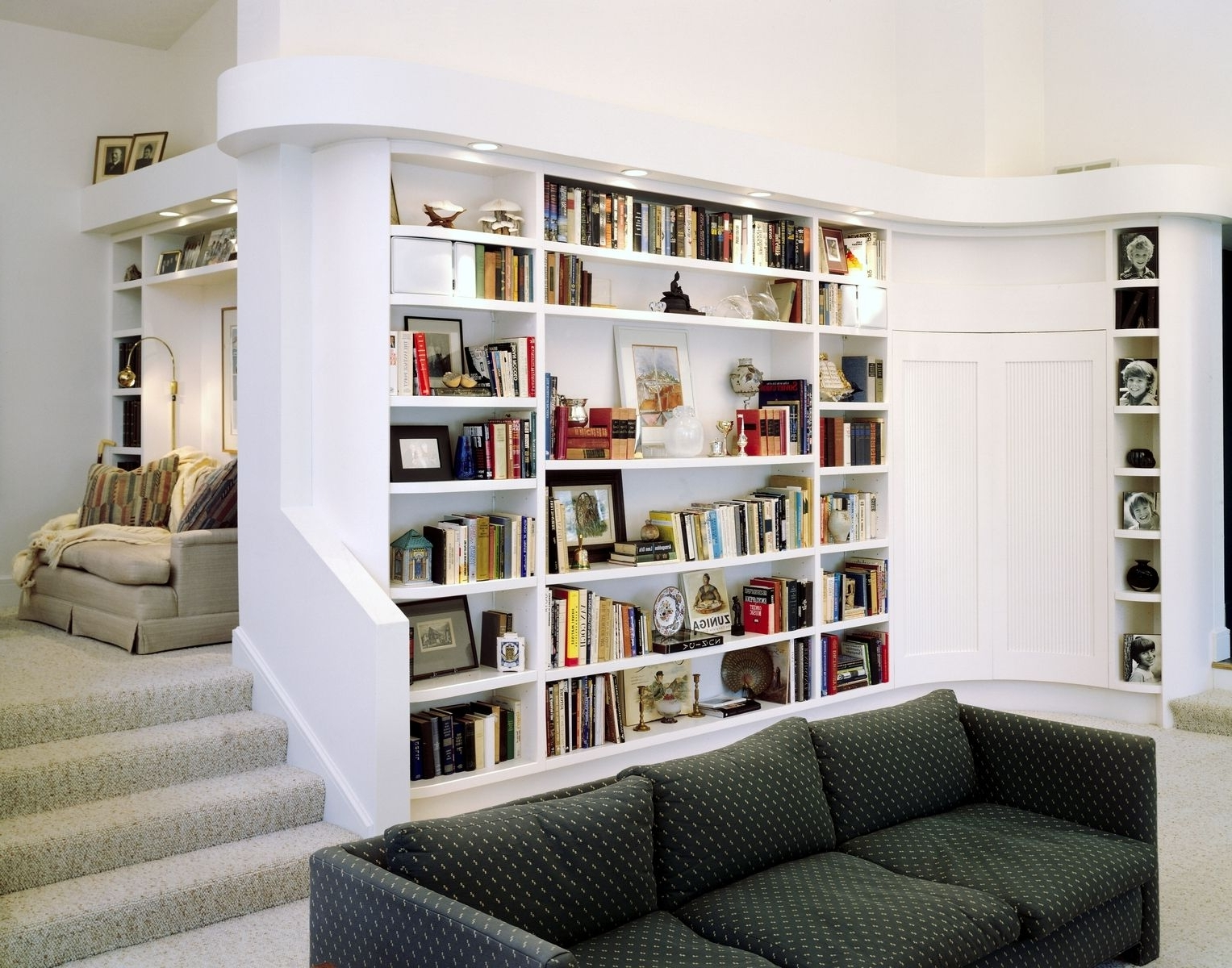Most Current White L Shaped Bookcase : Doherty House – Make A Room With L Within L Shaped Bookcases (View 12 of 15)