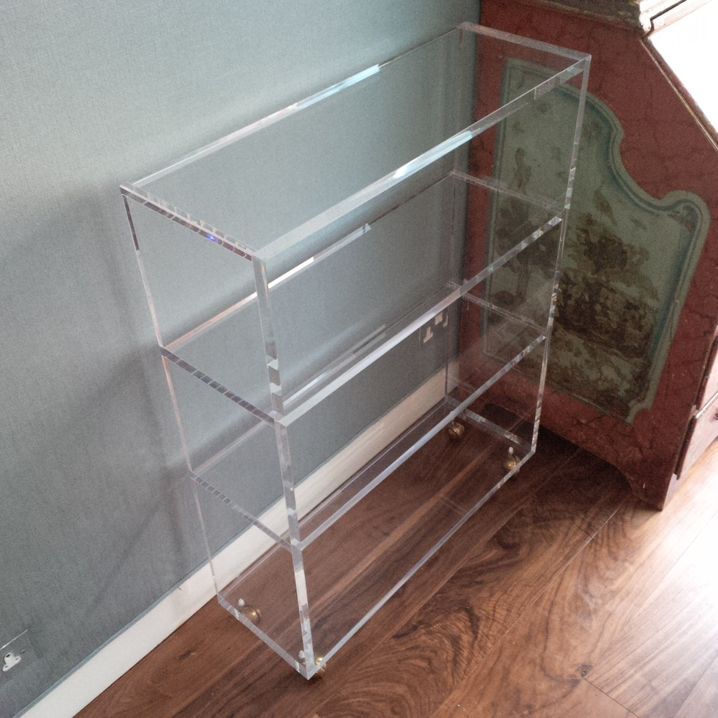 Most Popular Acrylic Bookcases With Regard To Carewjones.co (View 13 of 15)