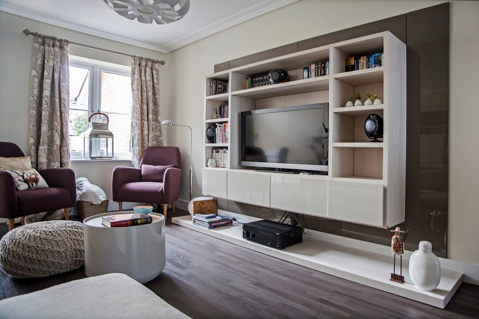 Most Popular Bespoke Tv Cabinets Bookcases And Storage Units For Over Wall Unit Regarding Bespoke Tv Unit (View 14 of 15)