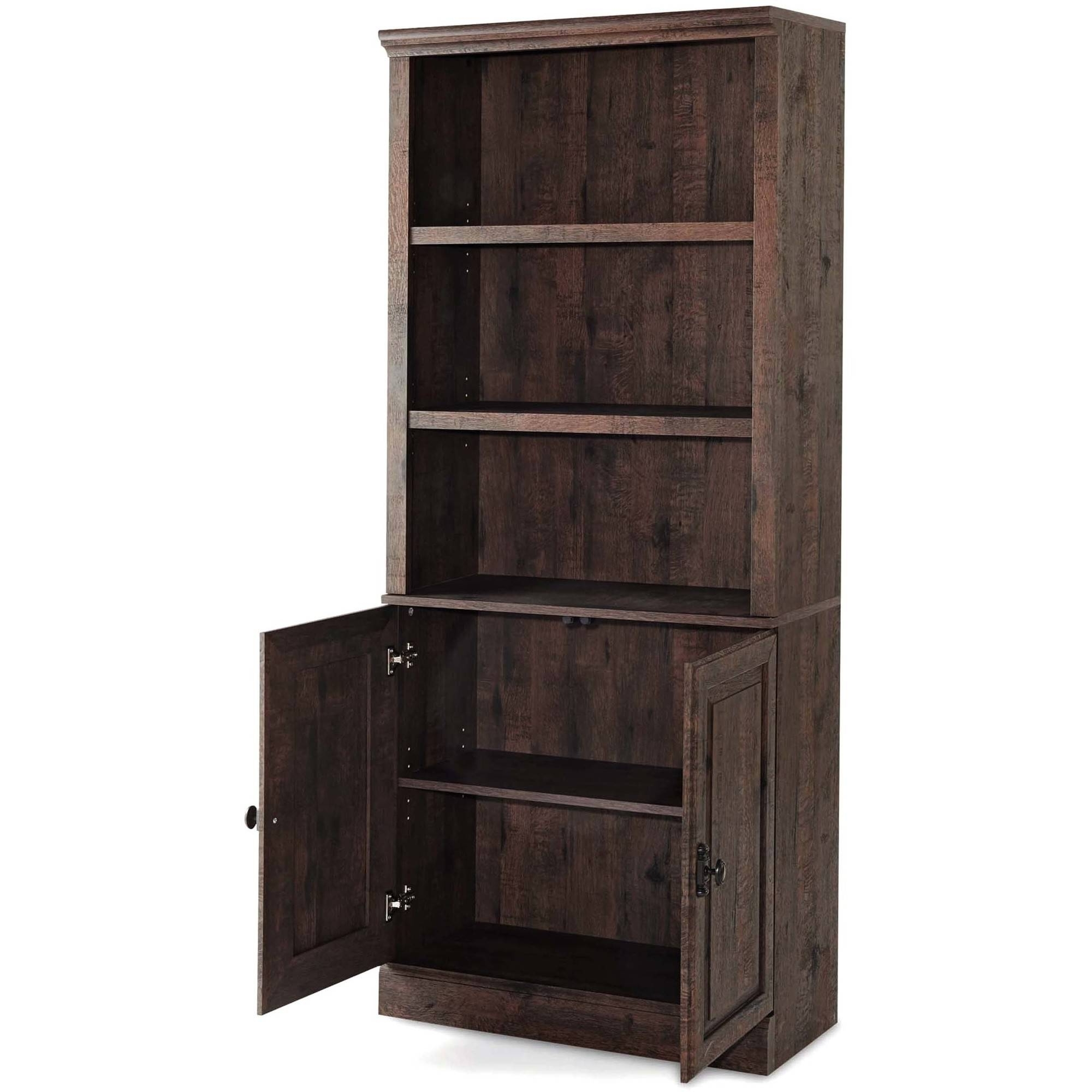 Most Popular Better Homes And Gardens Crossmill Bookcase With Doors, Multiple With Bookcases With Doors On Bottom (View 9 of 15)