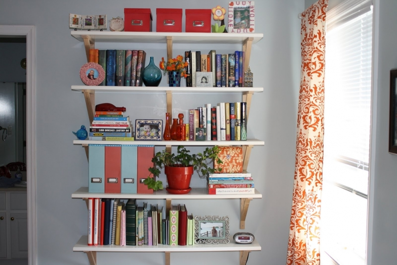 Most Popular Bookcases Ideas: Adorable Choosen Bedroom Bookcase King Bookcase In Bedroom Bookcases (View 13 of 15)