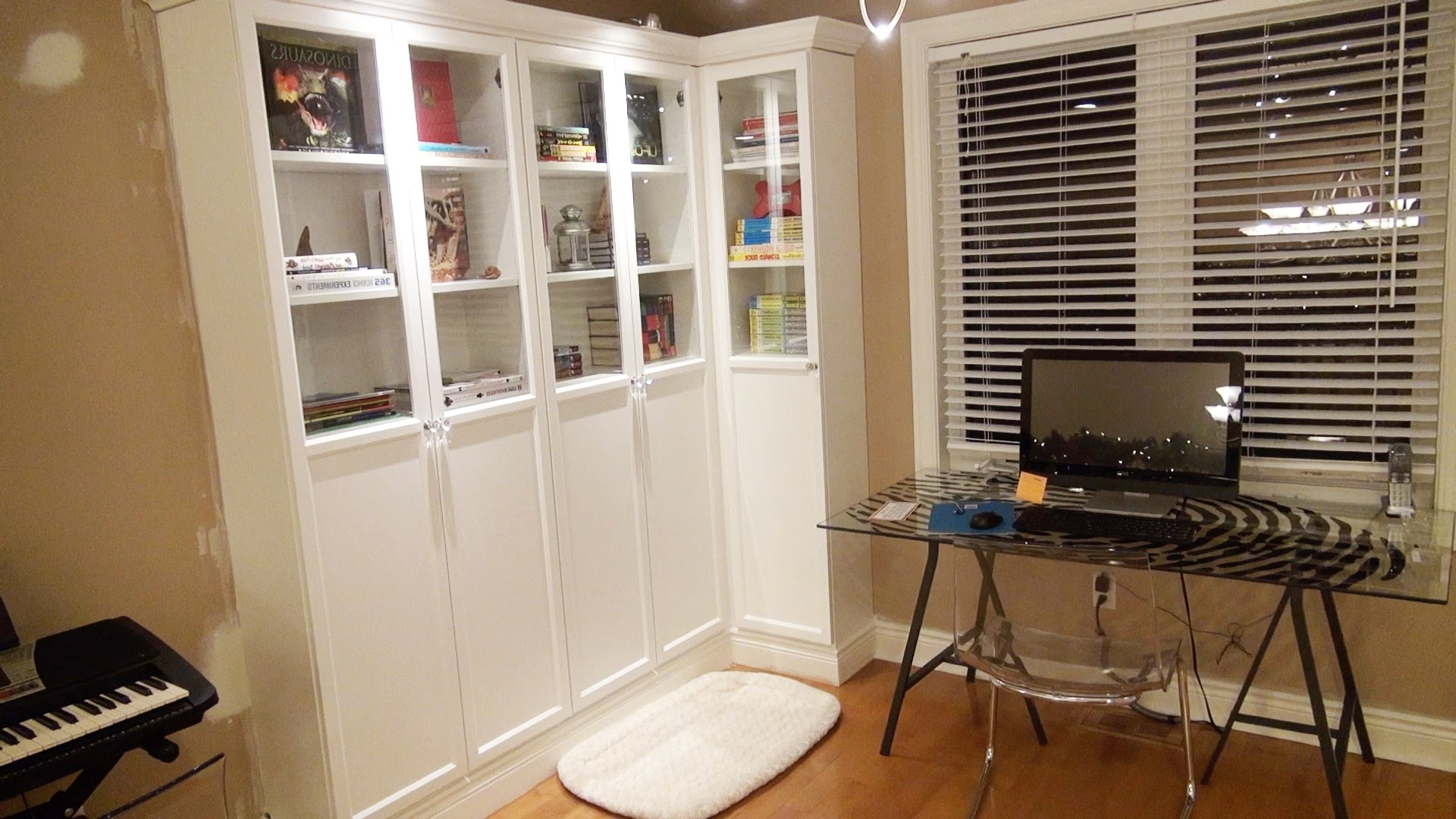 Most Popular Built In Bookcases Pertaining To How To Make An Ikea Bookcase Look Like A Professional Built In (View 11 of 15)