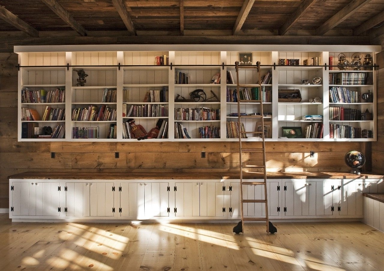 Most Popular Built In Bookcases With Hand Made Built In Bookcasee.b (View 12 of 15)