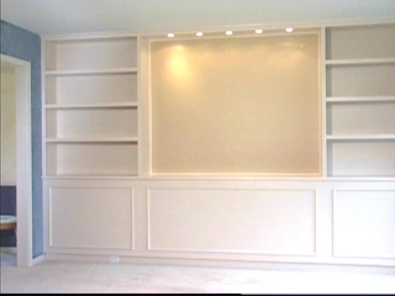 Most Popular Built In Tv Bookcases Regarding Built In Bookcases (View 7 of 15)