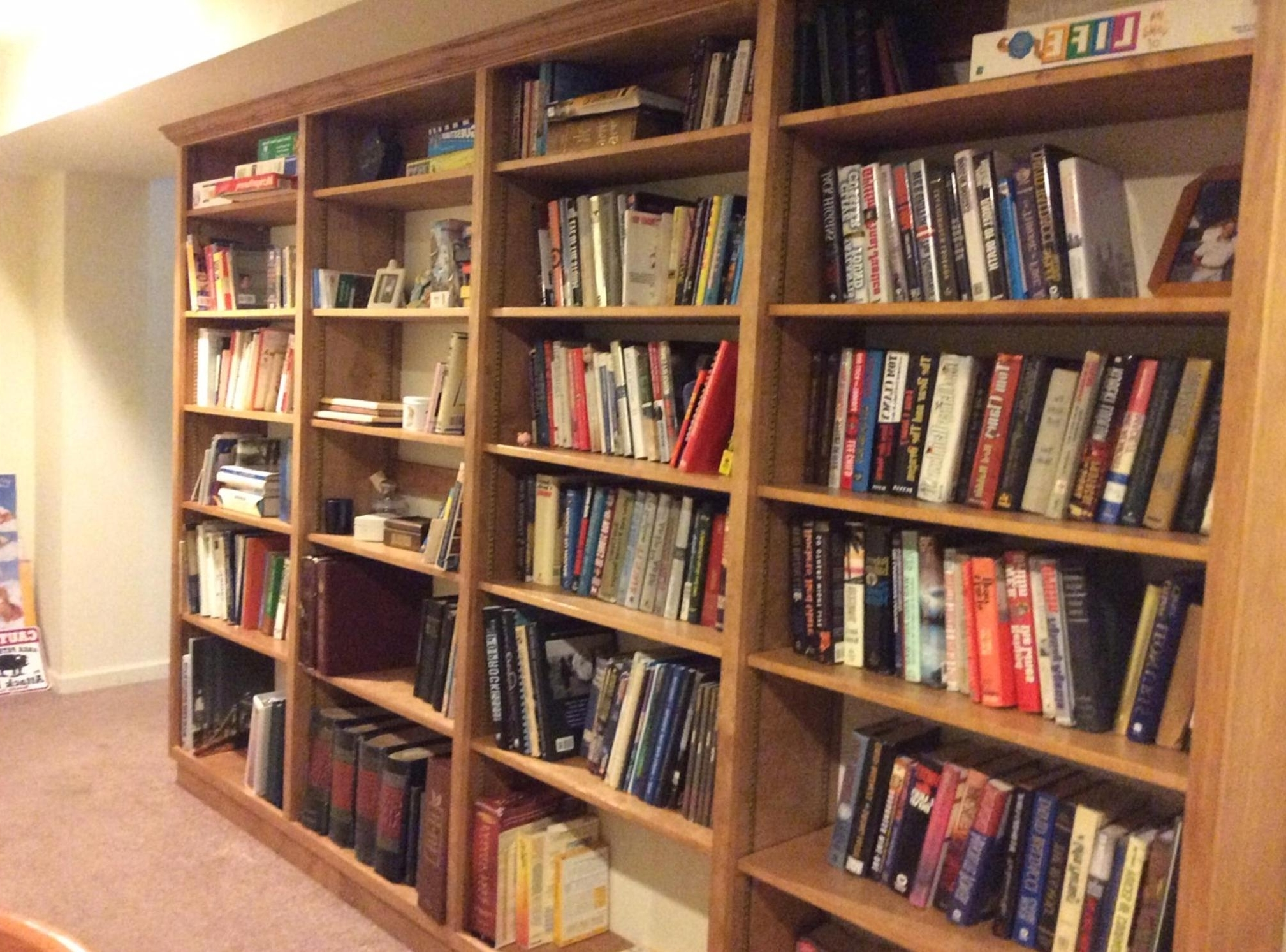 Most Popular Cecil County Bookcases Elkton Custom Bookcases Rising Sun Harford Inside Custom Bookcases (View 11 of 15)