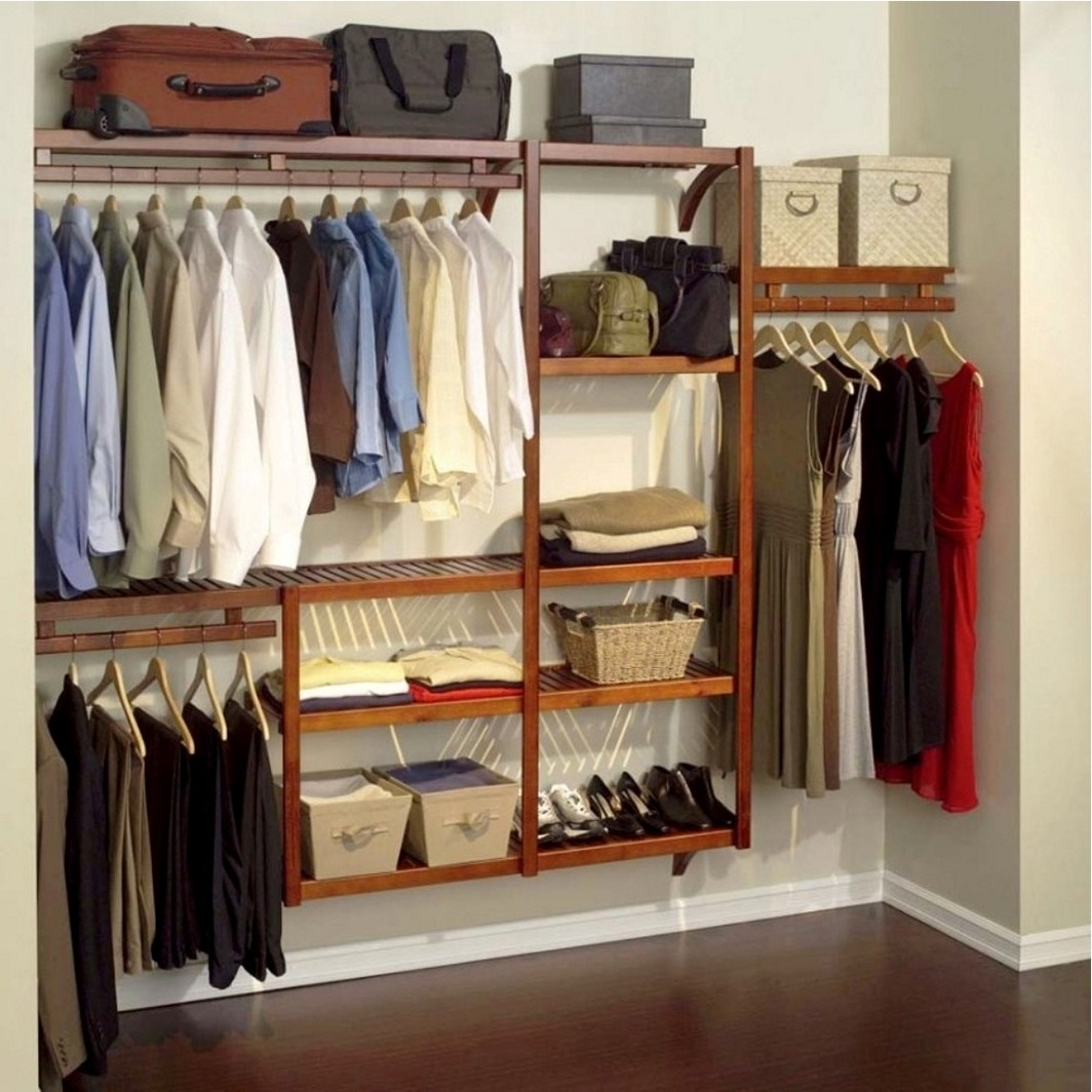 Most Popular Closet Storage : Garment Rack Store Clothes Storage Closet Intended For Wardrobes Hangers Storages (View 6 of 15)