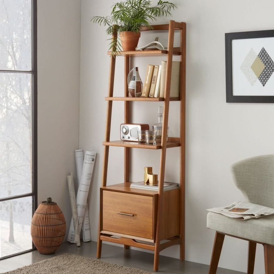 Most Popular Denwar Pottery S Home Mixes Mid Century Modern And Craftsman Regarding West Elm Bookcases (View 9 of 15)
