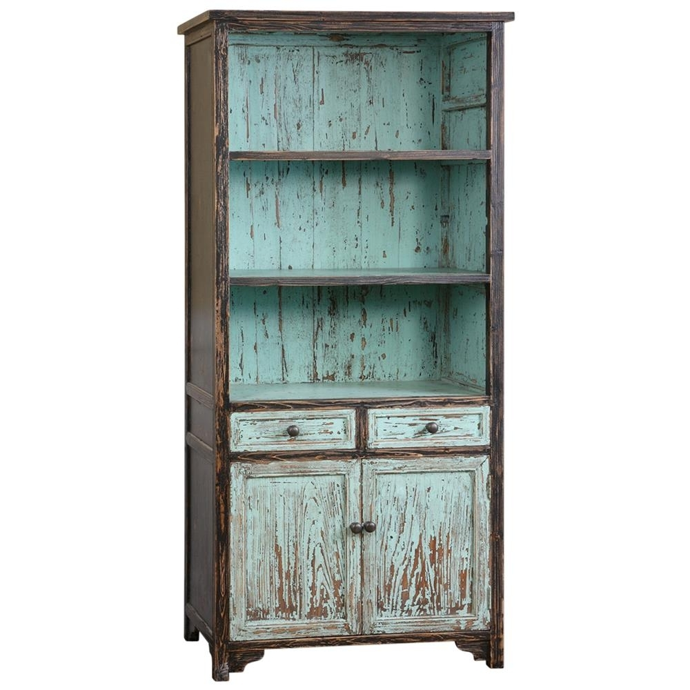 Most Popular Distressed Wood Bookcases With Regard To Bookcase 18+ Awesome Distressed Wood Photos Concept Bookcases With (View 8 of 15)