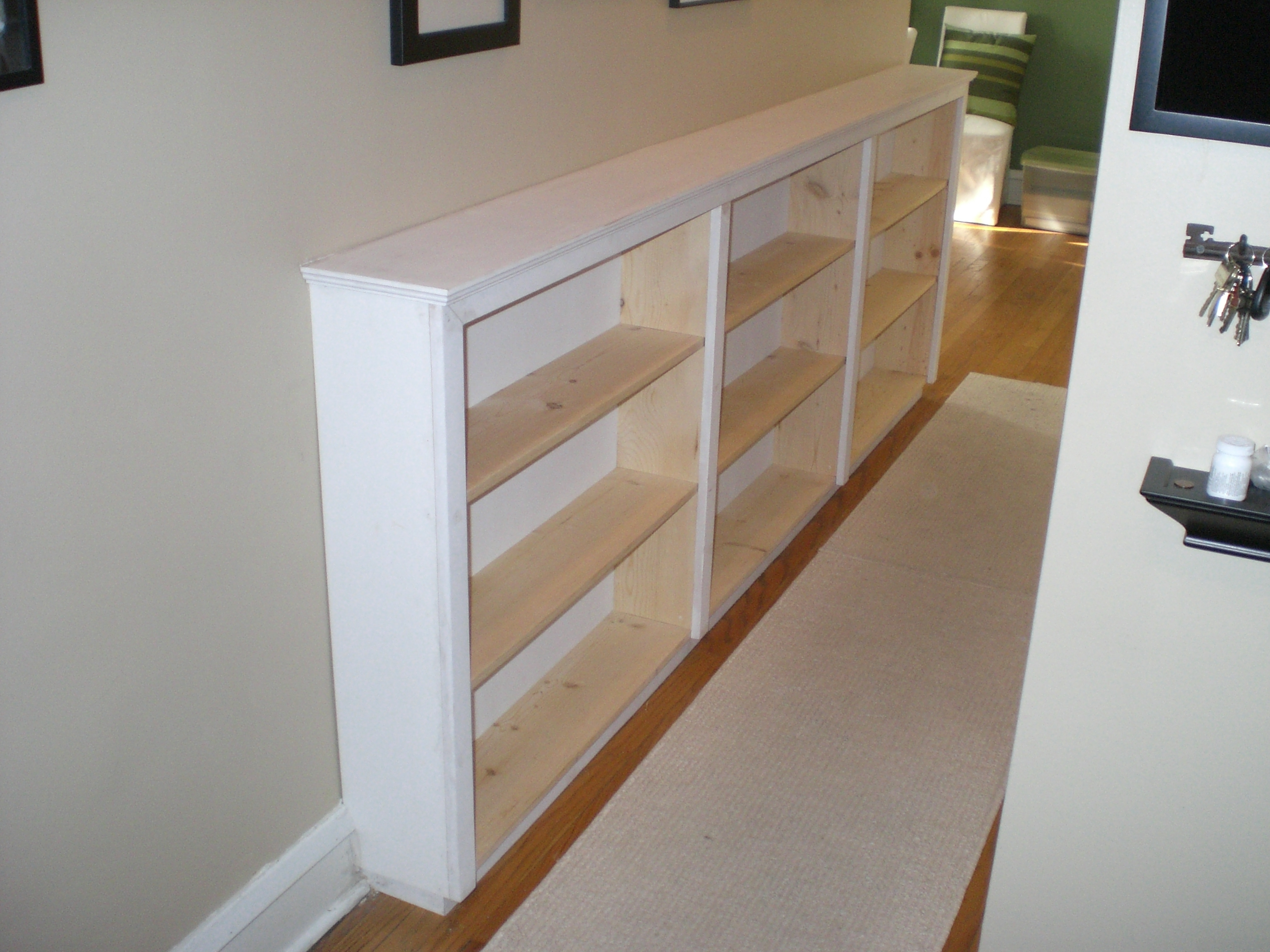 Most Popular Finding Space: Hallway Bookcases (View 10 of 15)