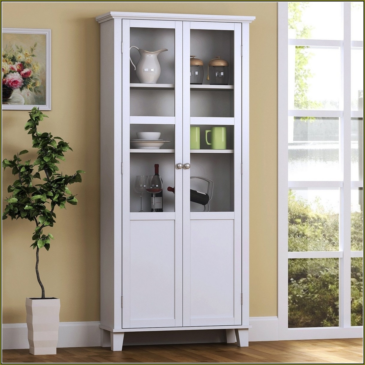 Most Popular Free Standing Storage Cupboards Within Tall Storage Cabinet For Kitchen • Storage Cabinet Ideas (View 14 of 15)