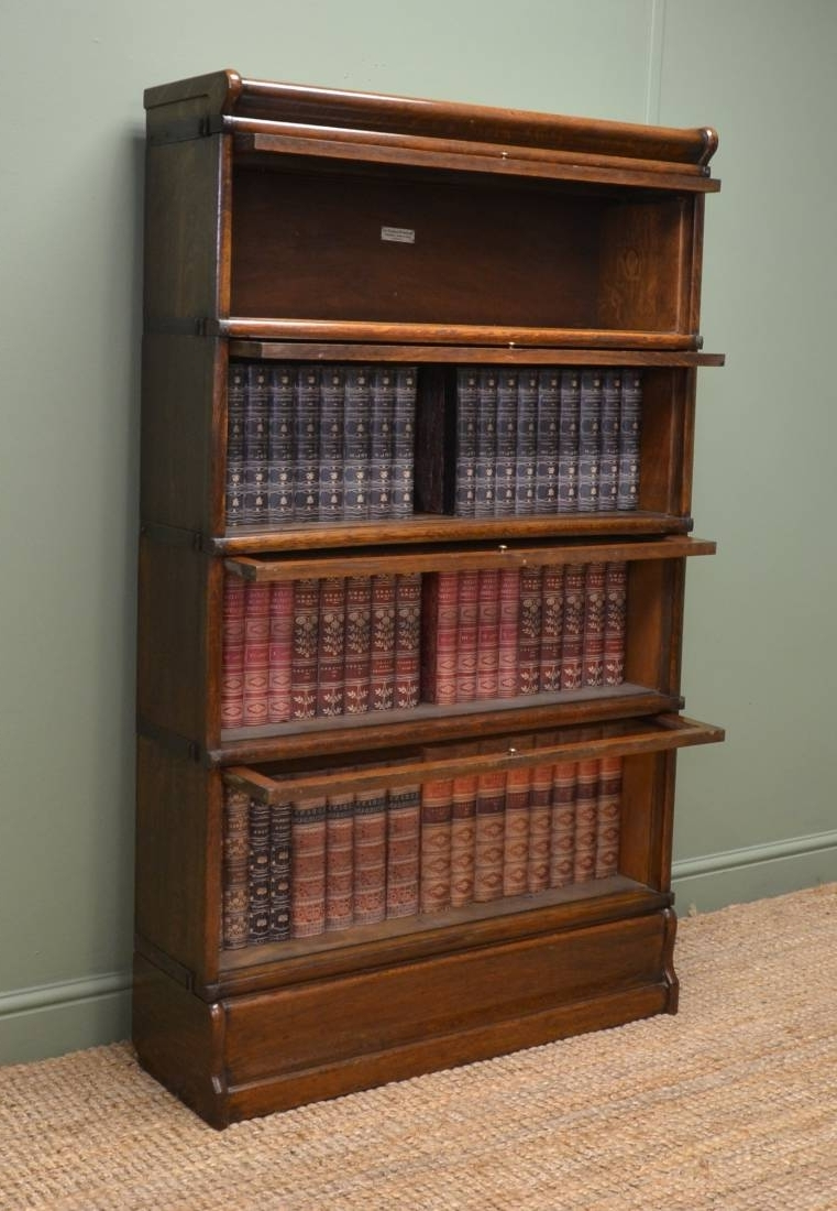 Most Popular Globe Wernicke Bookcases In Globe Wernicke Bookcase – Antiques World (View 11 of 15)