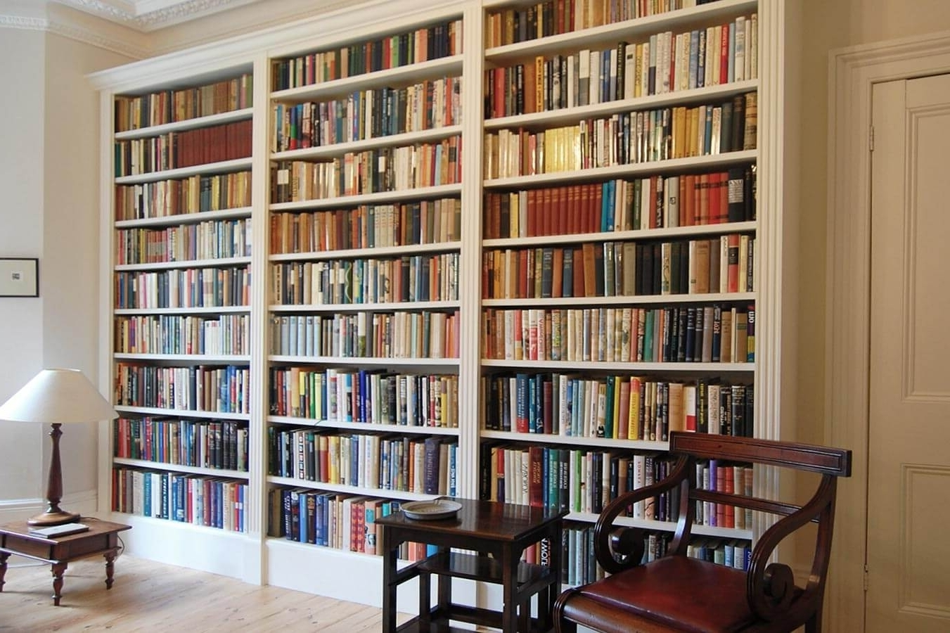 Most Popular Home Library Shelving Systems Within Home Design: Staggering Home Library Shelving Images Inspirations (View 9 of 15)