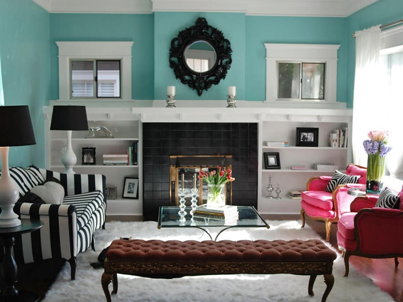 Most Popular How To Build Bookshelves Around A Fireplace (View 14 of 15)
