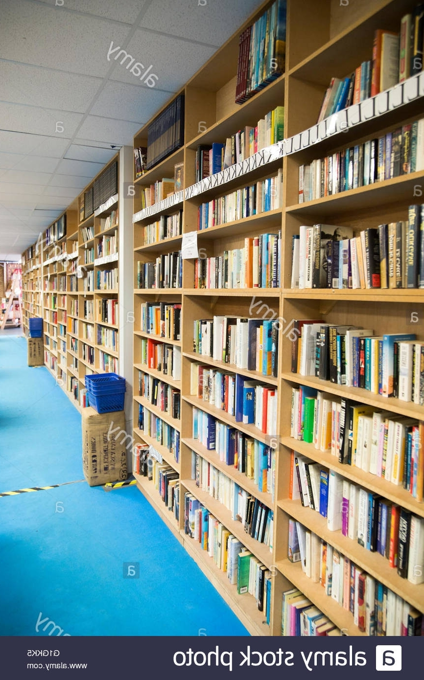 Most Popular Huge Bookshelves Throughout Secondhand Books On Bookshelves In Huge Bookbarn International (View 6 of 15)